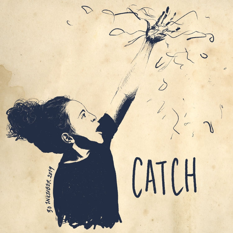Inktober 2019: 30 Catch