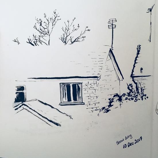 The house across the street; Pen