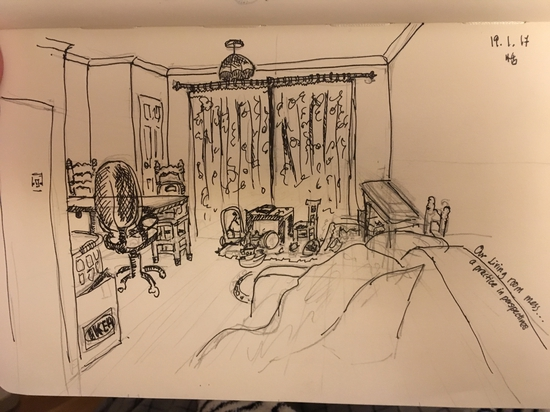 Our messy living room