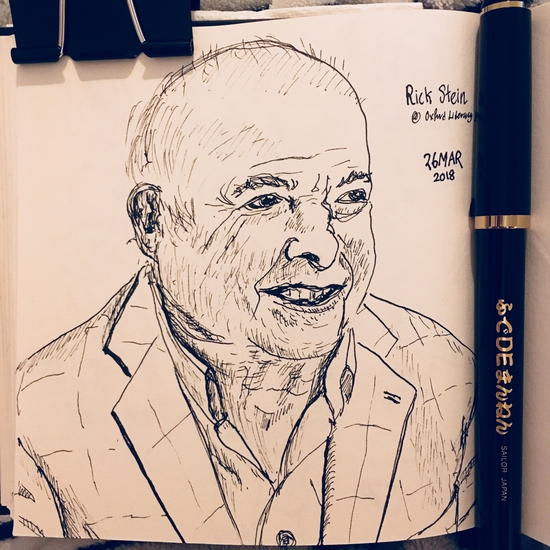 Rick Stein; Sailor Fude pen